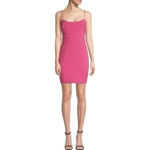 Likely Willard Mini Dress Cactus Flower Pink